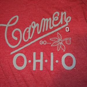 Women's Ohio State Nike V-Neck Shirt